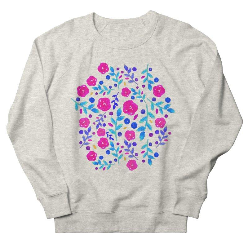 Petites Blumen  Women's Sweatshirt by AnnyCeciliaWalter's Galerie
