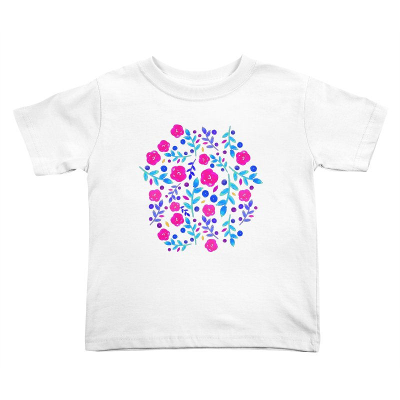 Petites Blumen  Kids Toddler T-Shirt by AnnyCeciliaWalter's Galerie