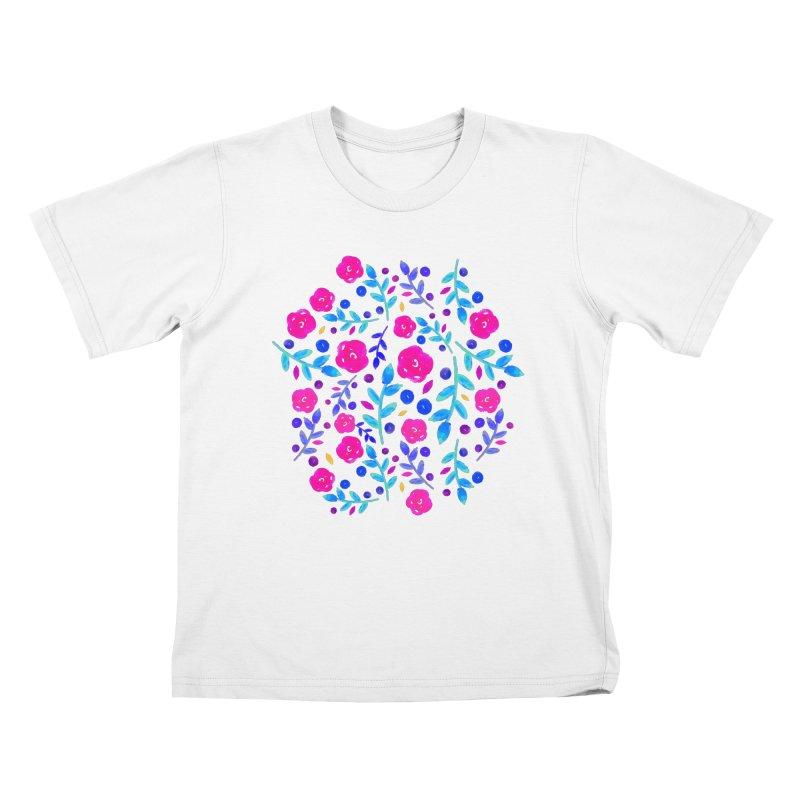 Petites Blumen  Kids T-shirt by AnnyCeciliaWalter's Galerie