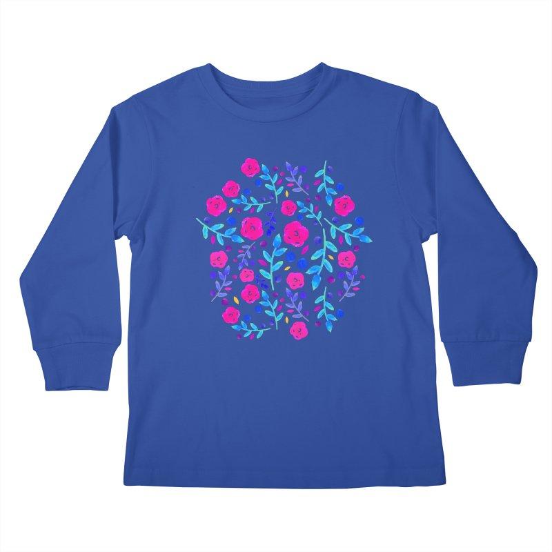 Petites Blumen  Kids Longsleeve T-Shirt by AnnyCeciliaWalter's Galerie