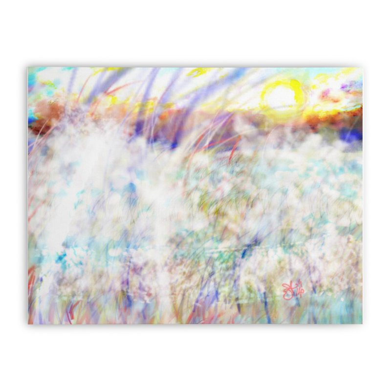 Sunrise of Sunset Home Stretched Canvas by anoellejay's Artist Shop