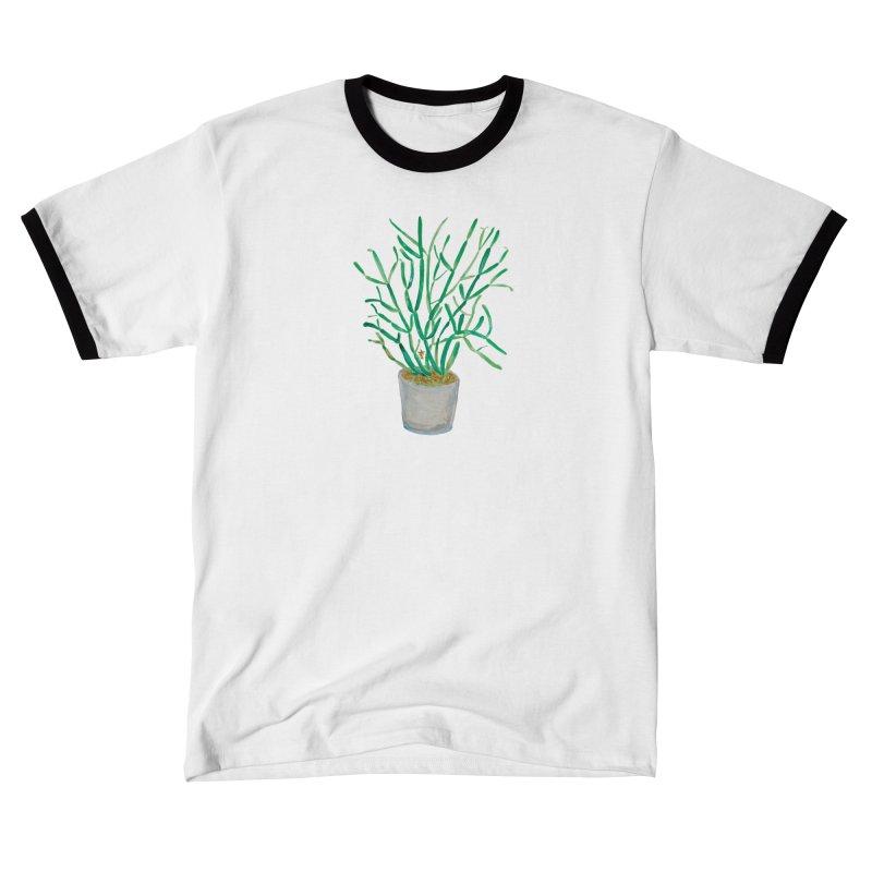 Pencil Plant, Quarantine Watercolor Men's T-Shirt by anoellejay's Artist Shop