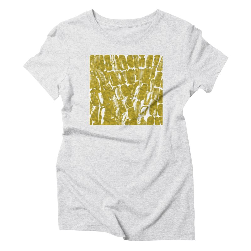Gold Sugarcane Women's T-Shirt by anoellejay's Artist Shop