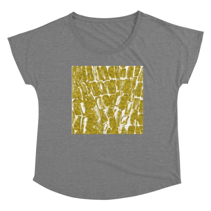 Gold Sugarcane Women's Scoop Neck by anoellejay's Artist Shop