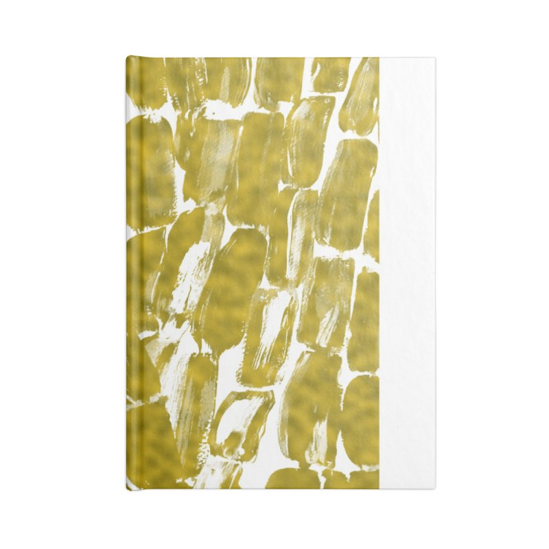 Gold Sugarcane Accessories Notebook by anoellejay's Artist Shop