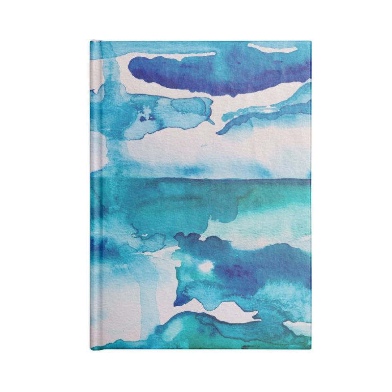 Cabo Beach Mexico Watercolor #2 Accessories Notebook by anoellejay's Artist Shop