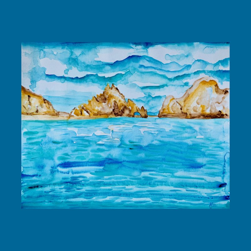 The Arch Cabo San Lucas Mexico Home Blanket by anoellejay's Artist Shop