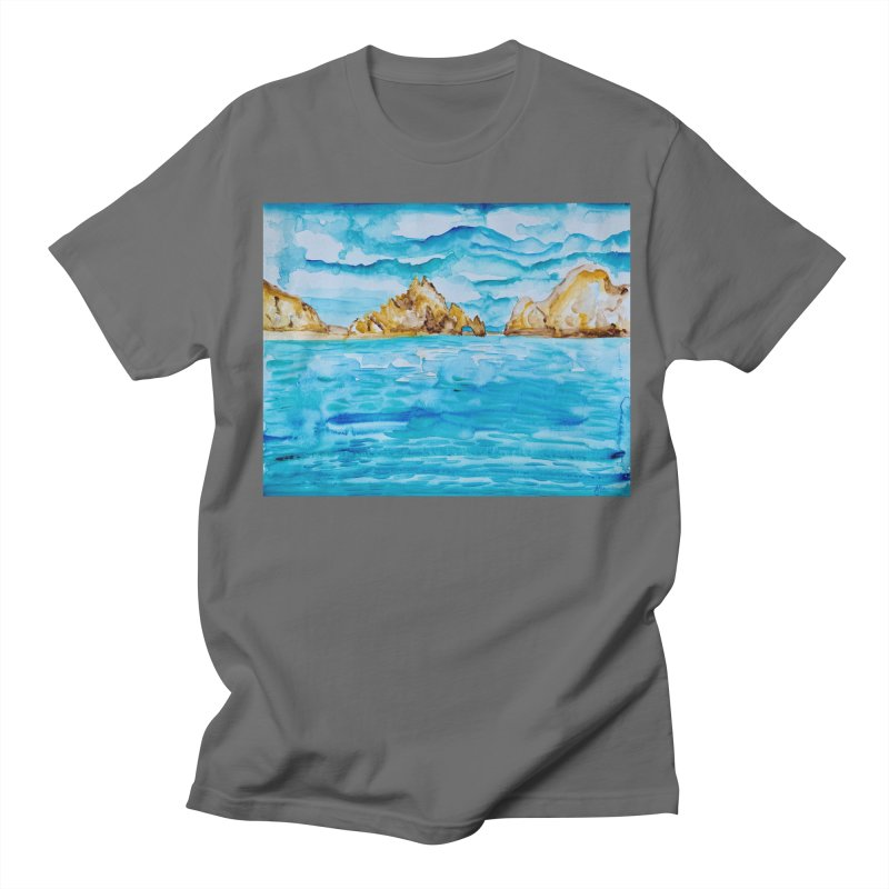 The Arch Cabo San Lucas Mexico Men's T-Shirt by anoellejay's Artist Shop