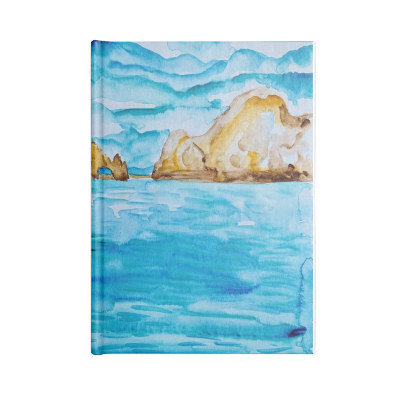 The Arch Cabo San Lucas Mexico Accessories Notebook by anoellejay's Artist Shop