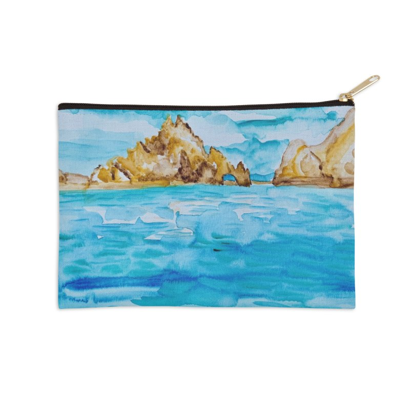 The Arch Cabo San Lucas Mexico Accessories Zip Pouch by anoellejay's Artist Shop