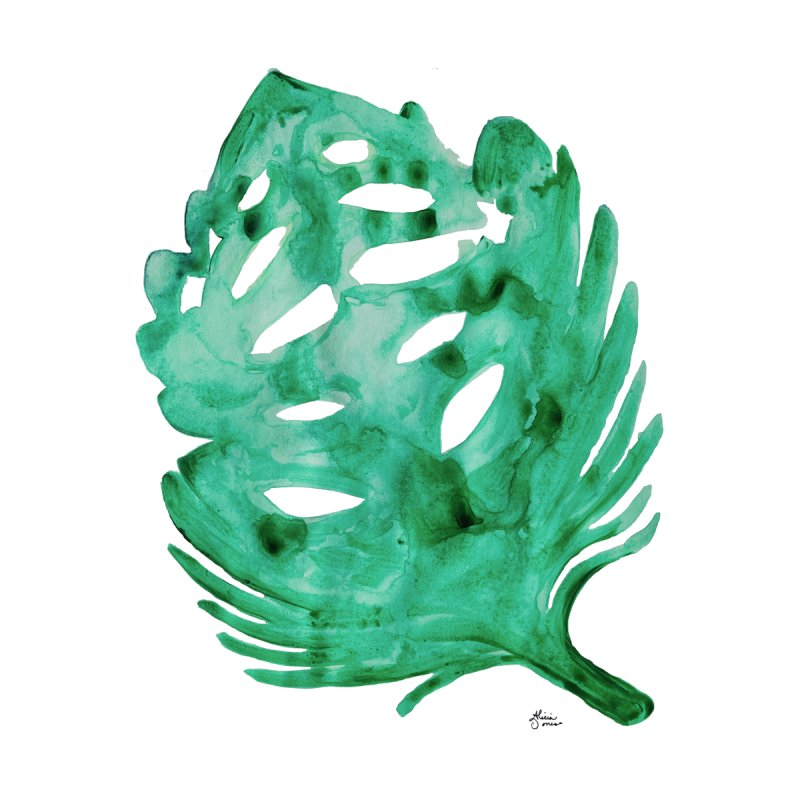 Banana Leaf Accessories Magnet by anoellejay's Artist Shop