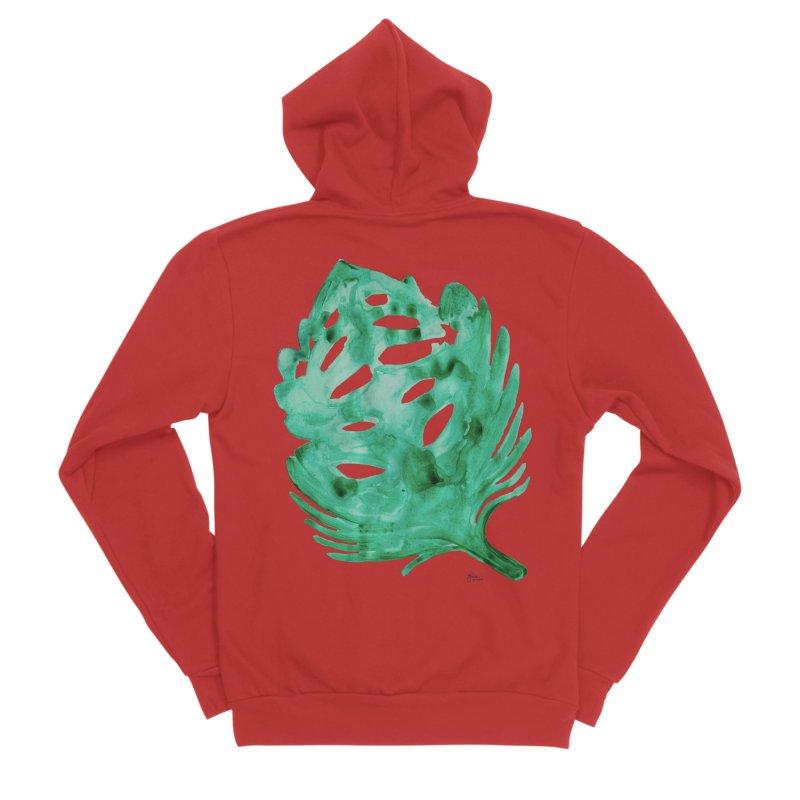 Banana Leaf Men's Zip-Up Hoody by anoellejay's Artist Shop