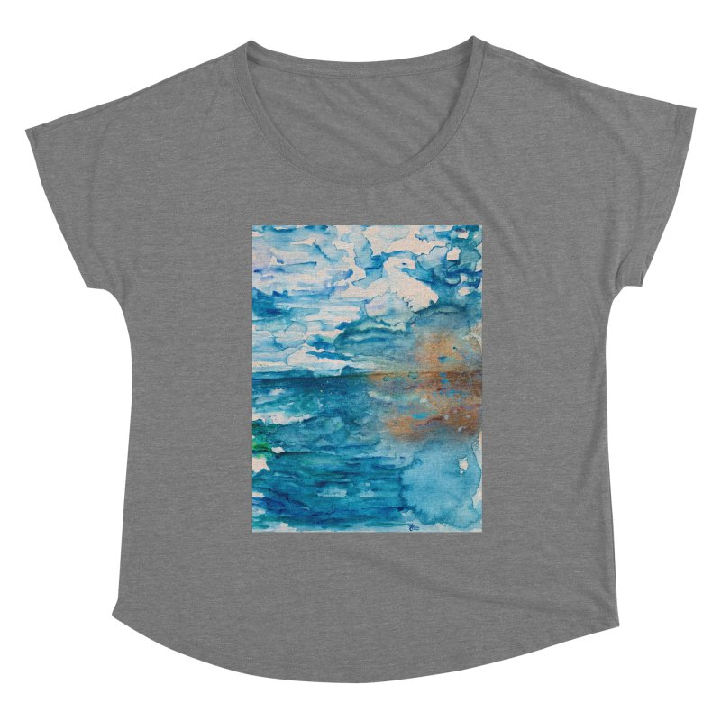 Save The Oceans, Cabo Beaches Women's Scoop Neck by anoellejay's Artist Shop