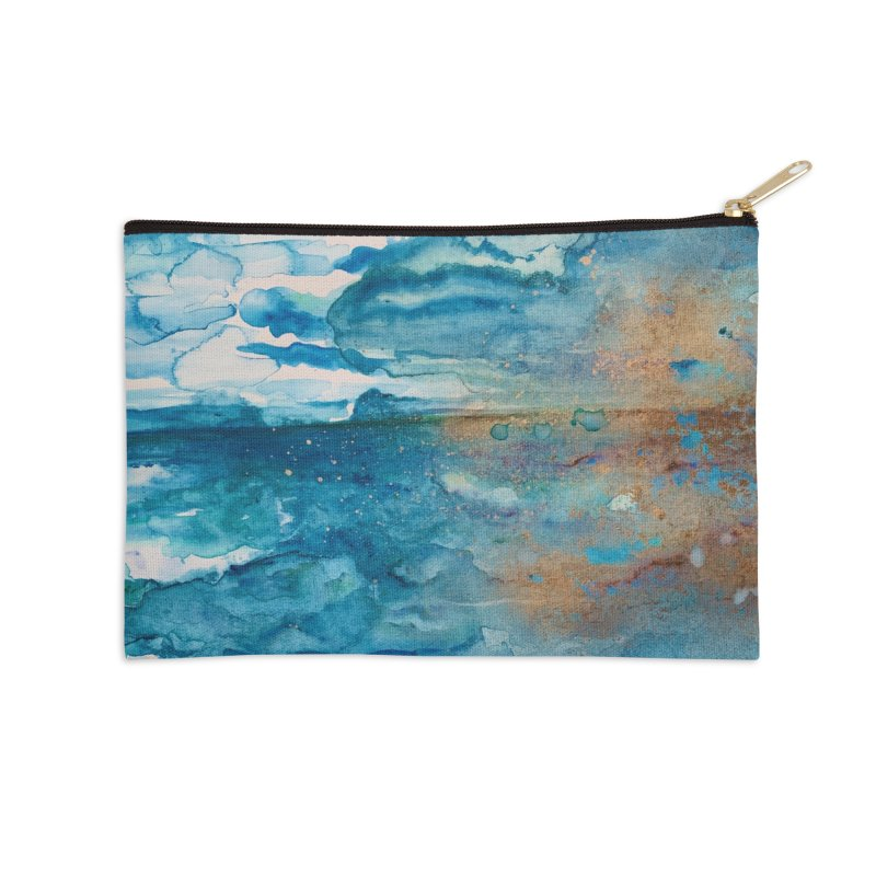 Save The Oceans, Cabo Beaches Accessories Zip Pouch by anoellejay's Artist Shop