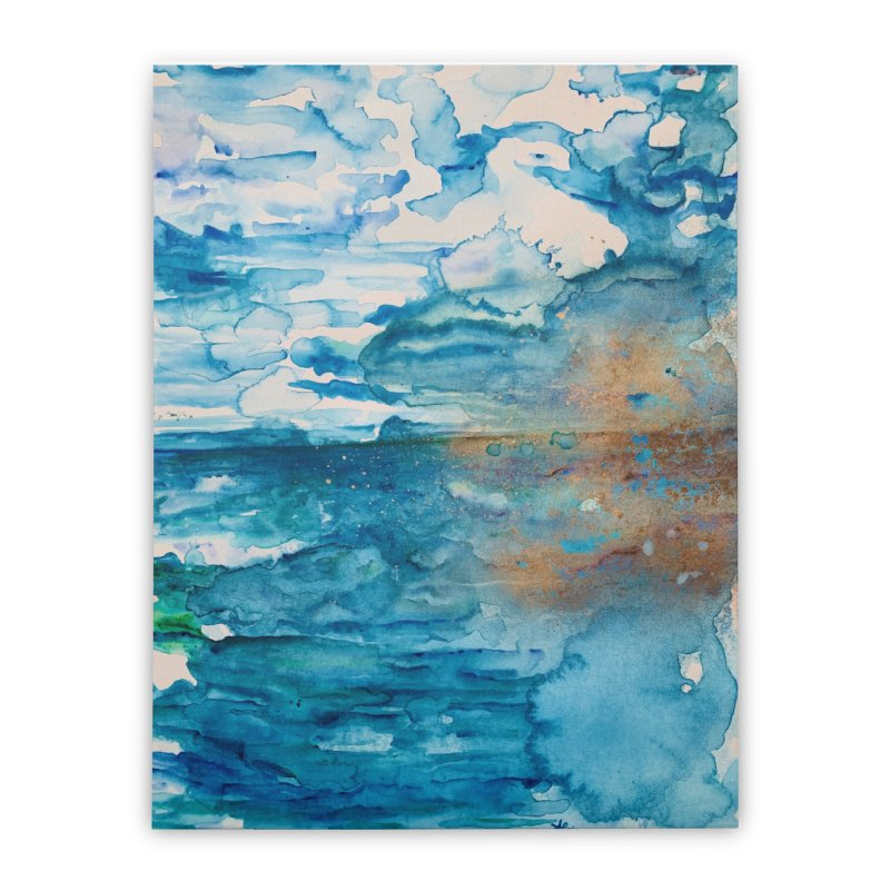Save The Oceans, Cabo Beaches Home Stretched Canvas by anoellejay's Artist Shop