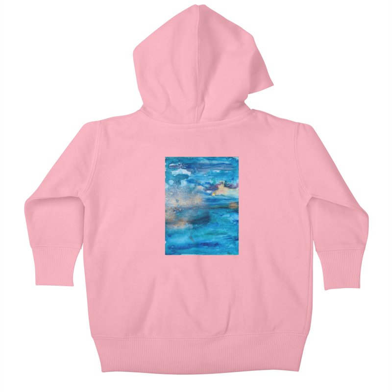 Save The Oceans, Cabo Beaches 2 Kids Baby Zip-Up Hoody by anoellejay's Artist Shop
