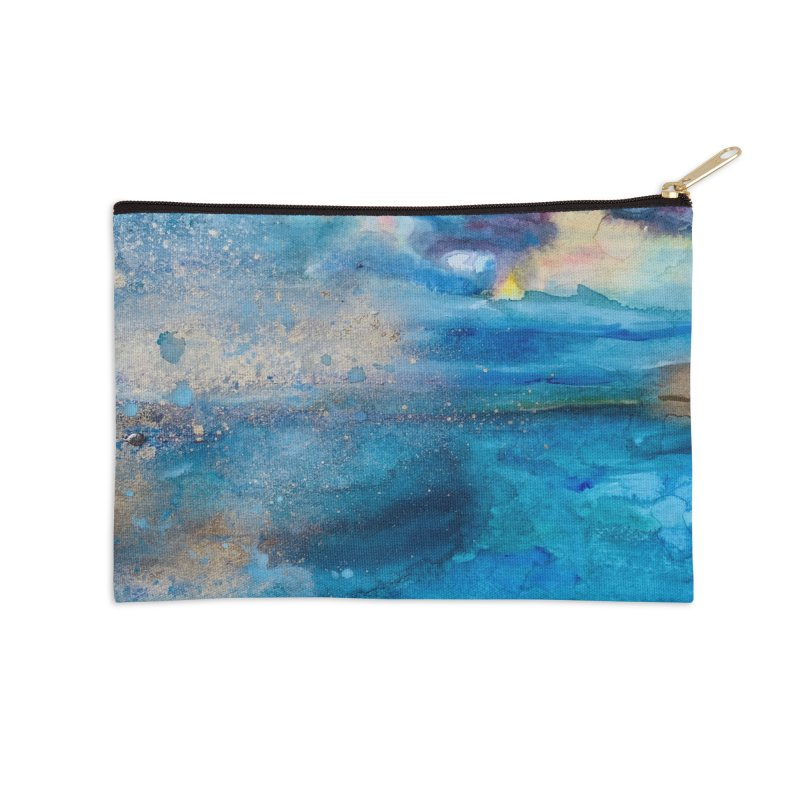 Save The Oceans, Cabo Beaches 2 Accessories Zip Pouch by anoellejay's Artist Shop