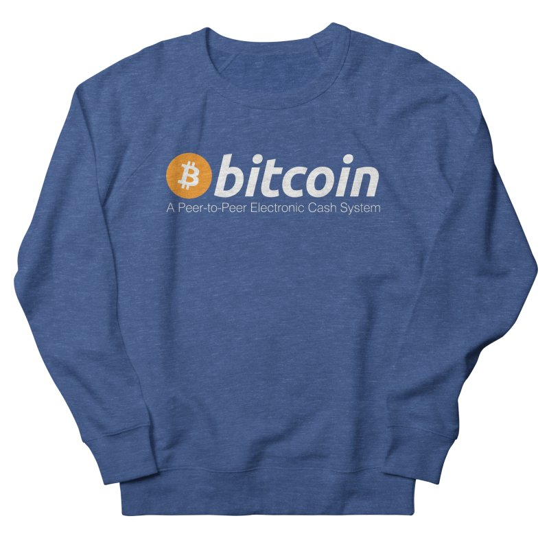 Bitcoin: a Peer-to-Peer Electronic Cash System Men's Sweatshirt by L33T GUY'S CRYPTO TEES
