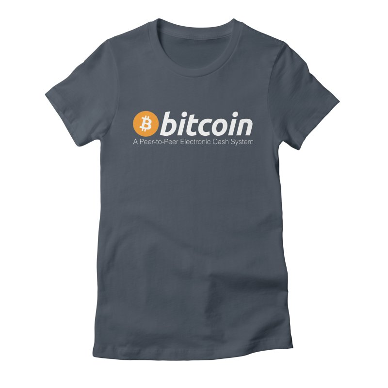 Bitcoin: a Peer-to-Peer Electronic Cash System Women's T-Shirt by L33T GUY'S CRYPTO TEES