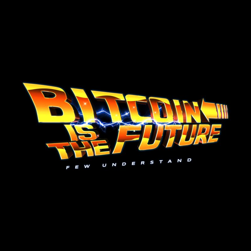 Bitcoin is the Future Men's Tank by L33T GUY'S CRYPTO TEES
