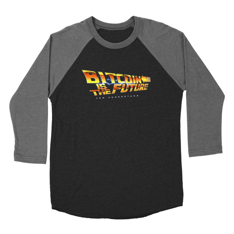 Bitcoin is the Future Men's Longsleeve T-Shirt by L33T GUY'S CRYPTO TEES