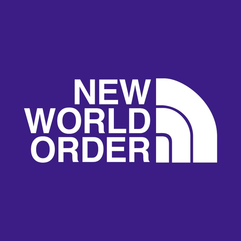 The New World Order Tee Men's Longsleeve T-Shirt by L33T GUY'S CRYPTO TEES
