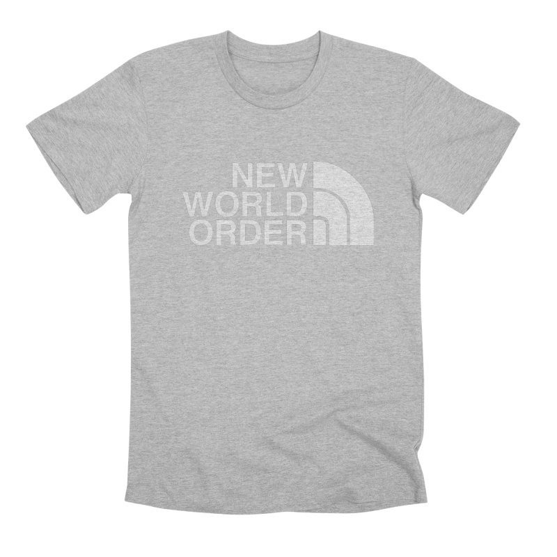 The New World Order Tee Men's T-Shirt by L33T GUY'S CRYPTO TEES