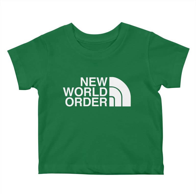 The New World Order Tee Kids Baby T-Shirt by L33T GUY'S CRYPTO TEES