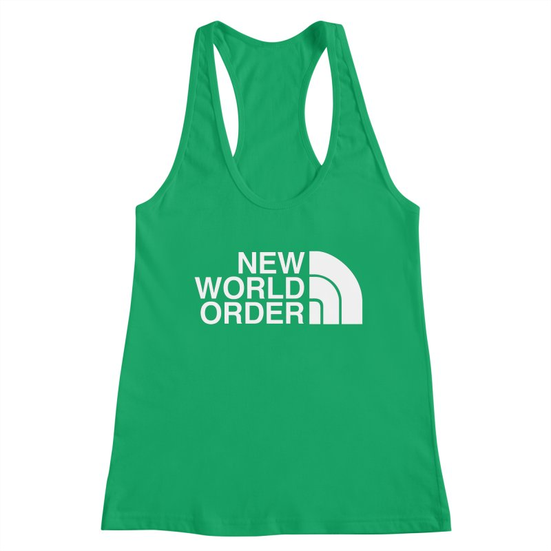 The New World Order Tee Women's Tank by L33T GUY'S CRYPTO TEES