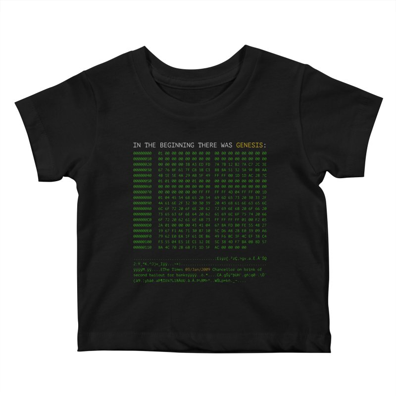 Kids None by L33T GUY'S CRYPTO TEES