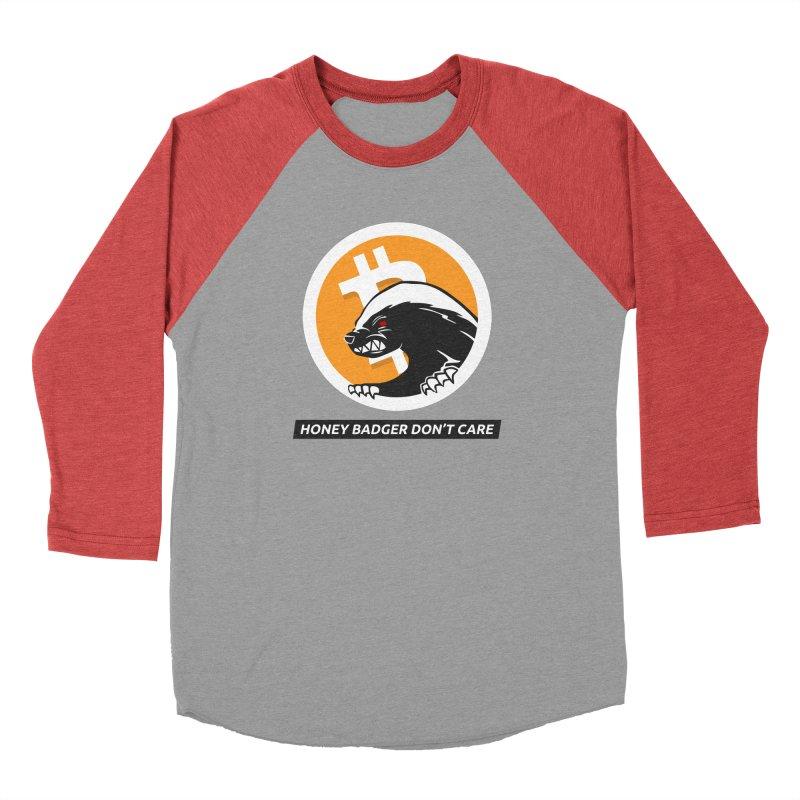 Honey Badger Don't Care Men's Longsleeve T-Shirt by L33T GUY'S CRYPTO TEES