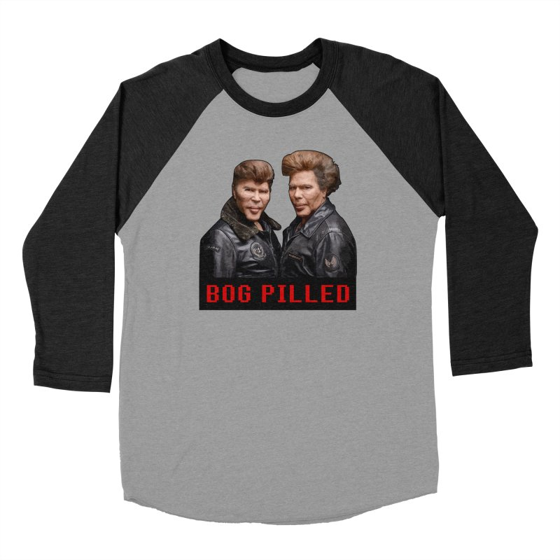 BOG PILLED Men's Longsleeve T-Shirt by L33T GUY'S CRYPTO TEES