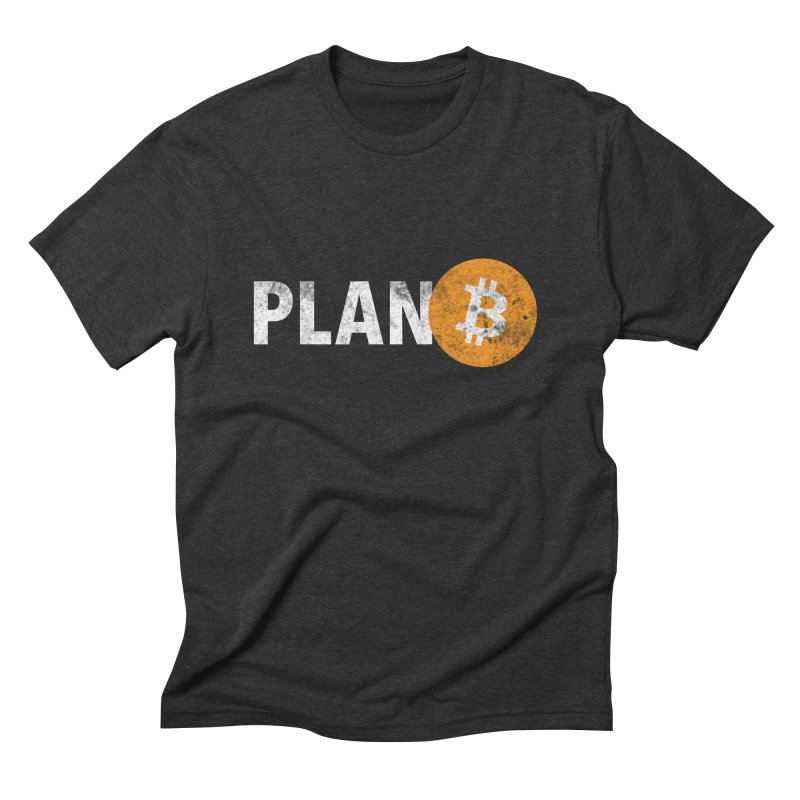 PLAN B Men's T-Shirt by L33T GUY'S CRYPTO TEES