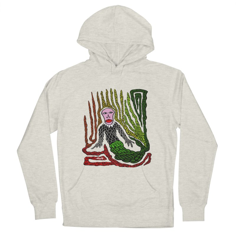 The Genius birdman Women's French Terry Pullover Hoody by antartant's Artist Shop