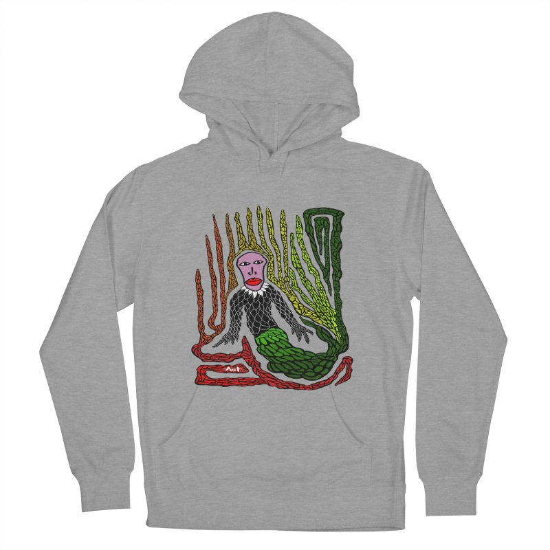 The Genius birdman Men's French Terry Pullover Hoody by antartant's Artist Shop
