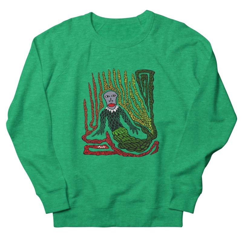 The Genius birdman Men's Sweatshirt by antartant's Artist Shop