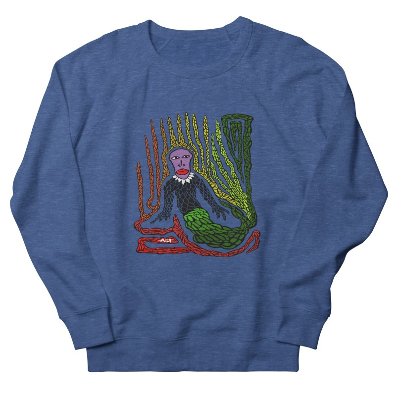 The Genius birdman Men's French Terry Sweatshirt by antartant's Artist Shop