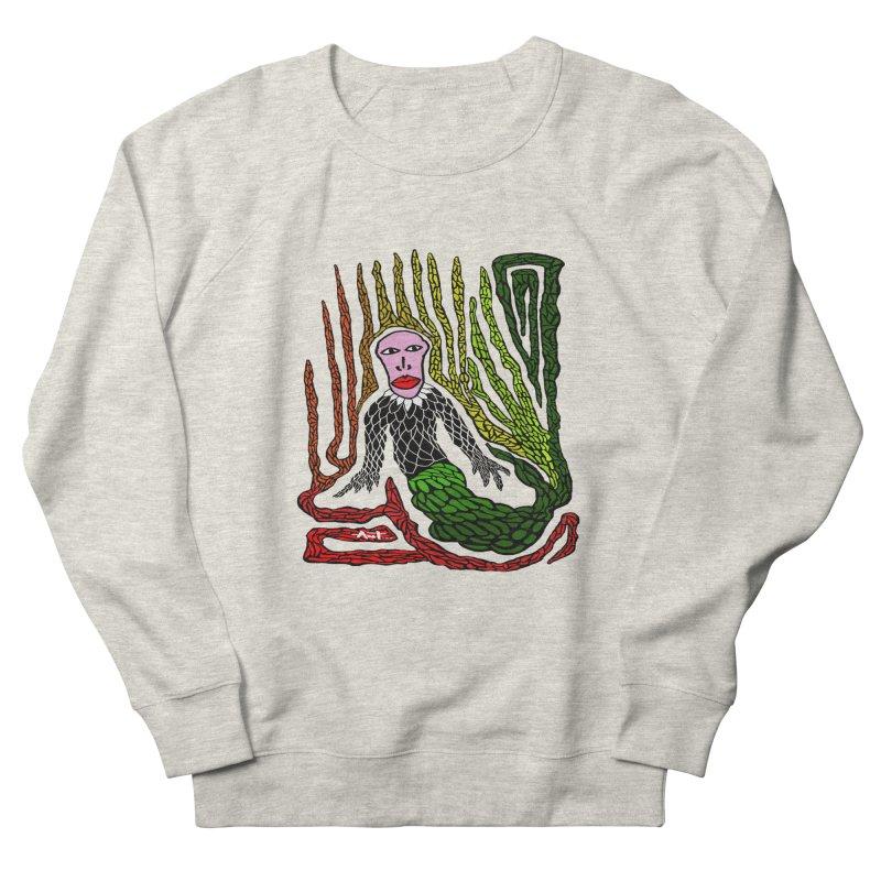 The Genius birdman Men's French Terry Sweatshirt by antartant's Artist Shop