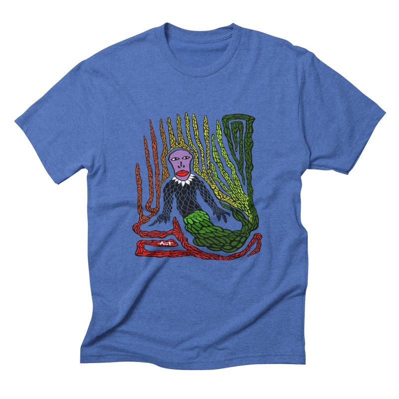 The Genius birdman Men's Triblend T-Shirt by antartant's Artist Shop
