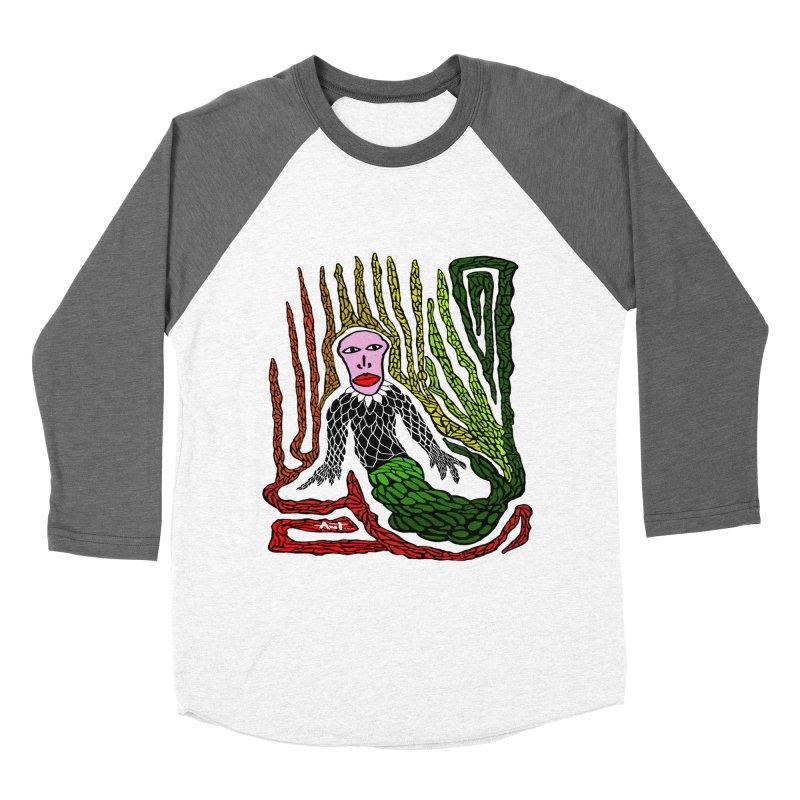 The Genius birdman Women's Baseball Triblend Longsleeve T-Shirt by antartant's Artist Shop
