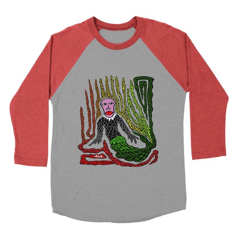 The Genius birdman Women's Baseball Triblend T-Shirt by antartant's Artist Shop