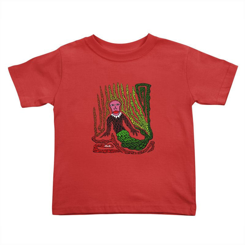The Genius birdman Kids Toddler T-Shirt by antartant's Artist Shop