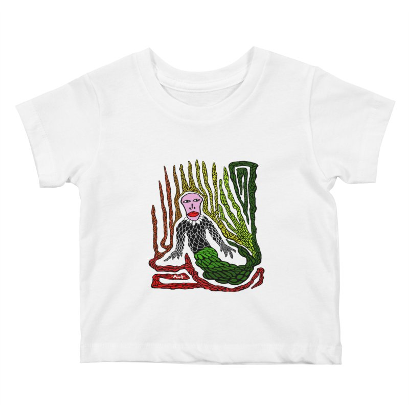 The Genius birdman Kids Baby T-Shirt by antartant's Artist Shop