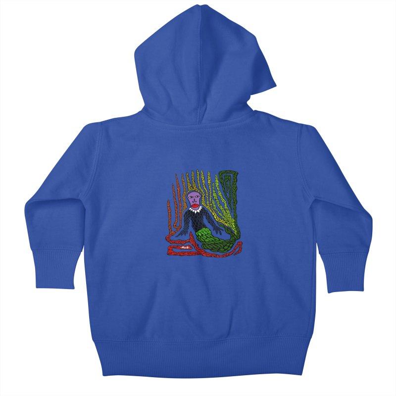 The Genius birdman Kids Baby Zip-Up Hoody by antartant's Artist Shop