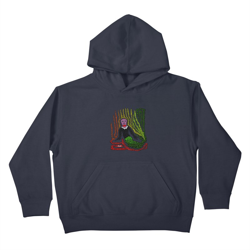 The Genius birdman Kids Pullover Hoody by antartant's Artist Shop
