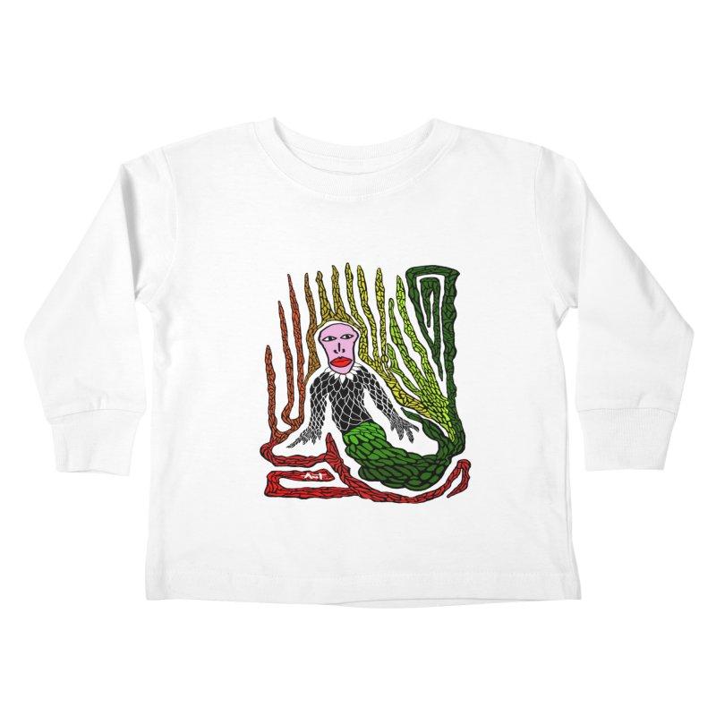 The Genius birdman Kids Toddler Longsleeve T-Shirt by antartant's Artist Shop