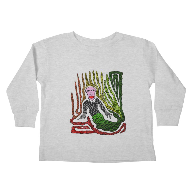 The Genius birdman Kids Toddler Longsleeve T-Shirt by antartant's Artist Shop