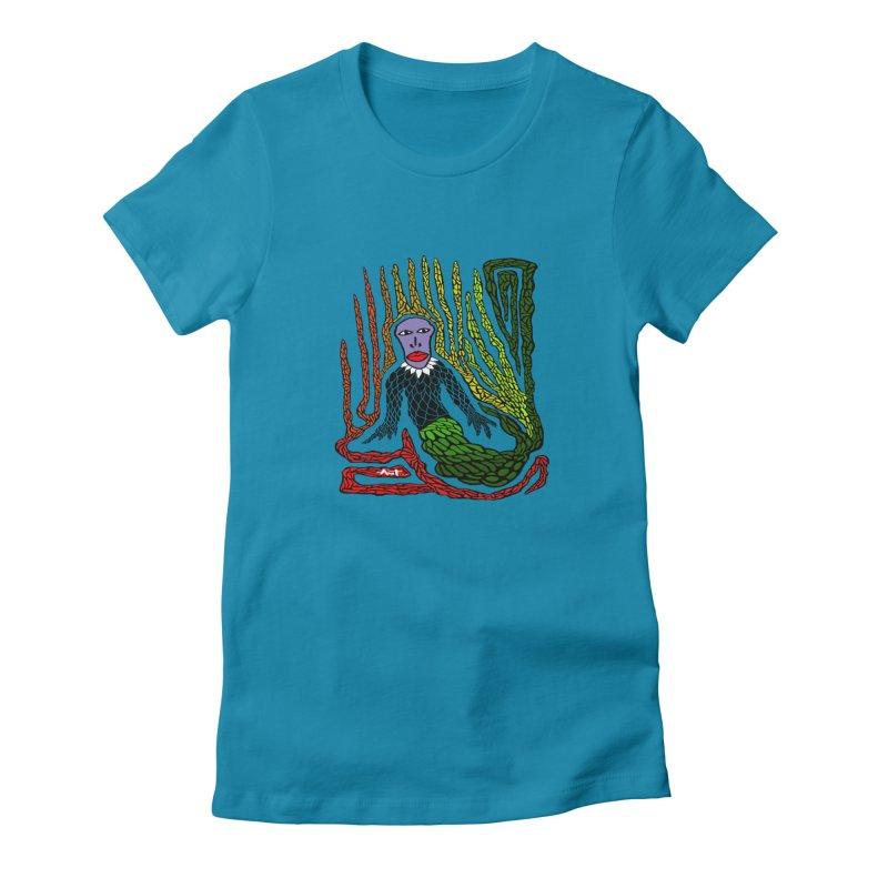 The Genius birdman Women's T-Shirt by antartant's Artist Shop