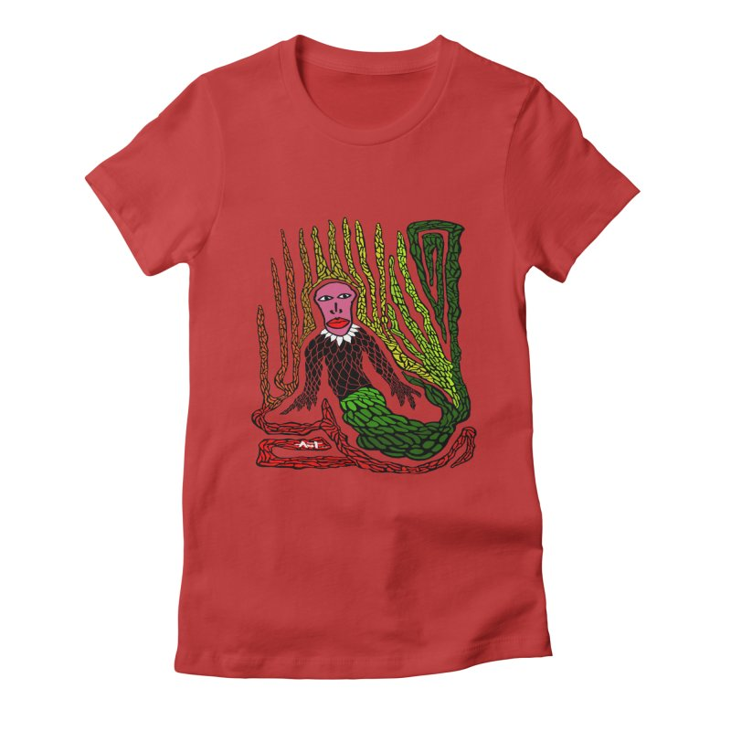 The Genius birdman Women's T-Shirt by antartant's Artist Shop
