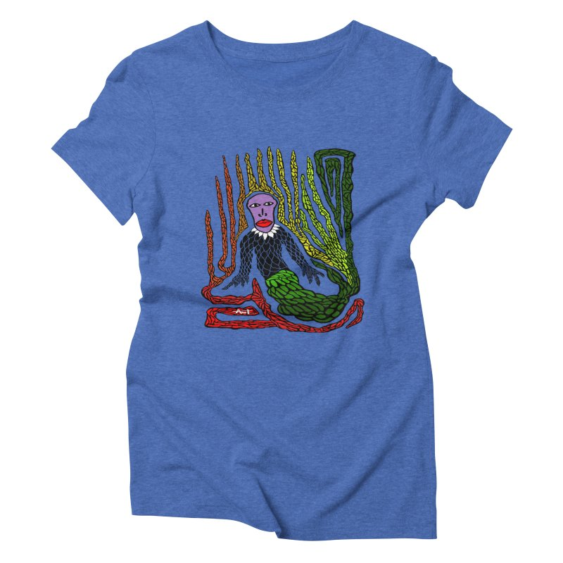 The Genius birdman Women's Triblend T-Shirt by antartant's Artist Shop